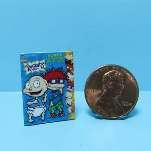 Dollhouse Miniature Christmas Santa Coloring Book ~ HR59803