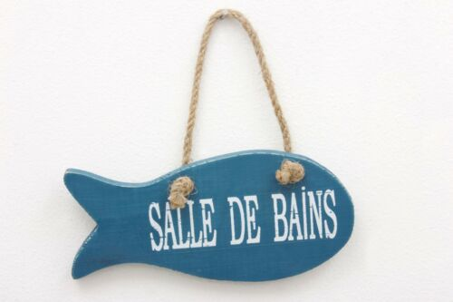SALLE DE BAIN FISH SIGN SEASIDE
