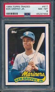 1989-Topps-Traded-Baseball-Ken-Griffey-Jr-R-41T-PSA-8-MARINERS-NM-MT-HOF