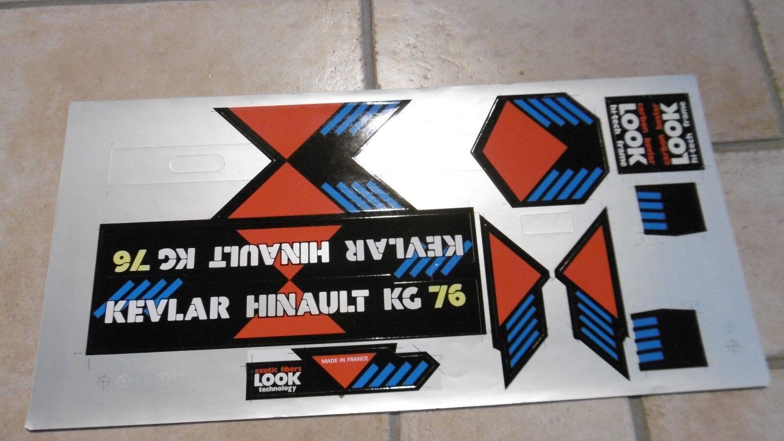 LOOK KG76  Ke vlar Hinault Foil Decals Set  we offer various famous brand