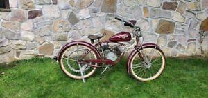 1949 Whizzer Schwinn Motorized Bicycle Motorbike with Title - Runs GREAT!
