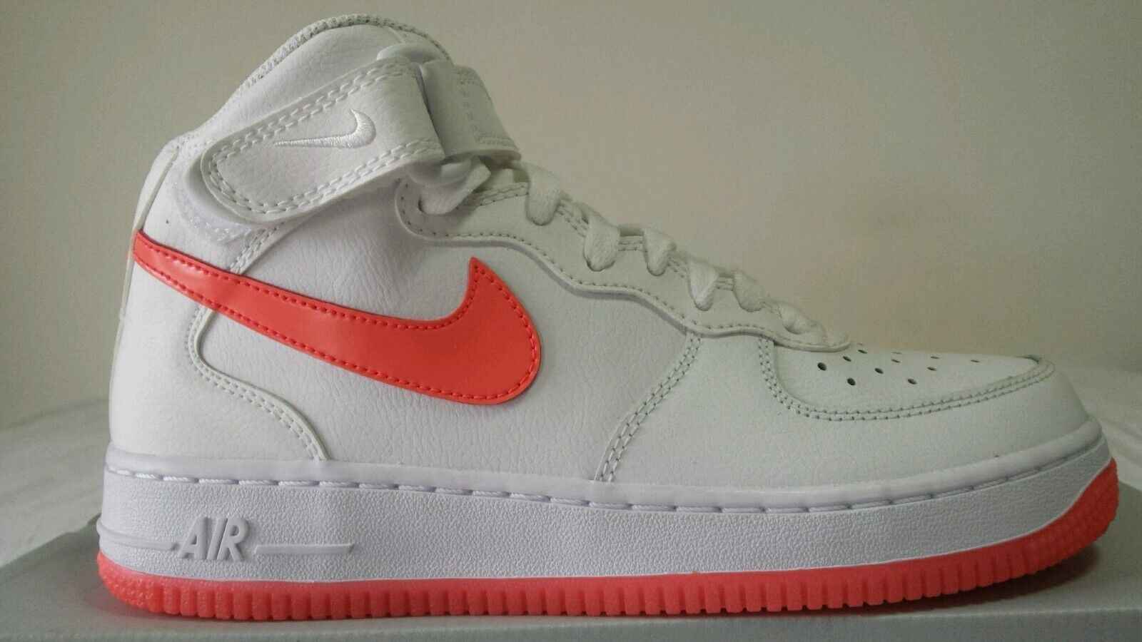 NIKE AIR MAX AIR FORCE 1 MID 97 WHITE MUSTACHE CORAL   38 SPECTACULAR OKKSPORT