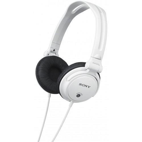 Sony Controles Auriculares con Reversible Auriculares - Blanco (MDRV150W)