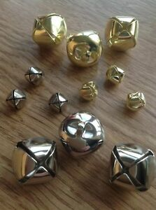 Metal-Bells-Round-Cat-Jingle-Bells-Silver-Gold-Christmas-10mm-15mm-20mm