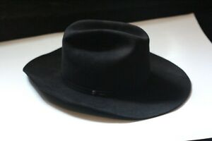 NICE-Ty-Murray-Collection-Resistol-Western-Cowboy-Hat-Black-Size-7-3-8-Oval