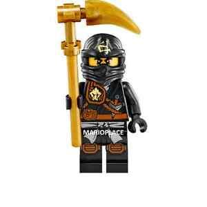 Lego Ninjago 71207 -  COLE - Minifigure and Weapon NEW
