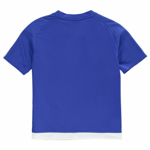 NEW 2018 adidas Kids 3 Stripe Estro T-Shirt Boys Short Sleeved age 7-13 EDITION