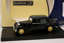 Eligor 1/43 - Citroen Traction 11 CV Schwarz 1938