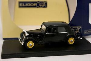 Eligor-1-43-Citroen-Traction-11-CV-Nero-1938
