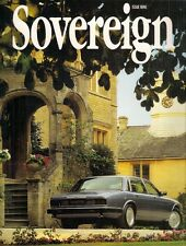 Jaguar Sovereign Magazine No9 November 1993 UK Market Brochure
