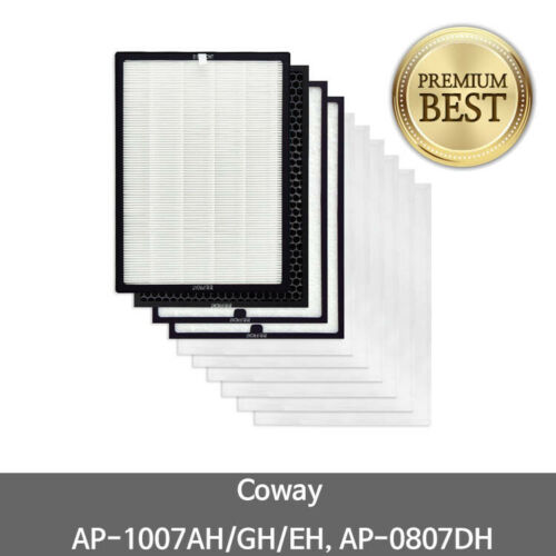 AP-0807DH ARIA DEPURATORE Filtro di ricambio Set di 1 anni Coway AP-1007AH//GH//EH