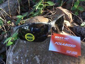 399bf14278 Maxx HDP Sunglasses Domain Roughrider  7 Leaf Camo Polarized TR90 ...