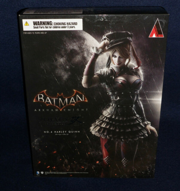 "Batman: Arkham Knight Harley Quinn Play Arts Kai 10"" Action Figur SQUARE ENIX"