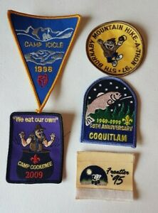 5-Boy-Scouts-of-Canada-Coquitlam-Burnaby-Camp-1995-Frontier-Fish-Patch-Badge