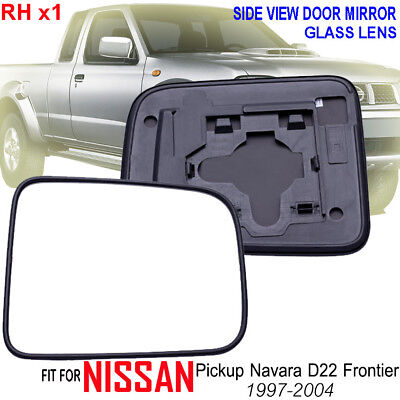 LEFT PASSENGER SIDE MIRROR GLASS FOR NISSAN NAVARA D22 1997-2015