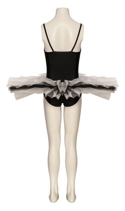 Black & White Fancy Dress Dance Ballet Tutu Halloween Outfit Costume By Katz