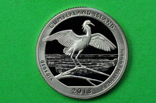 c//n clad US Quarter Cumberland Island Seashore 2018-S GEM Proof Deep Cameo