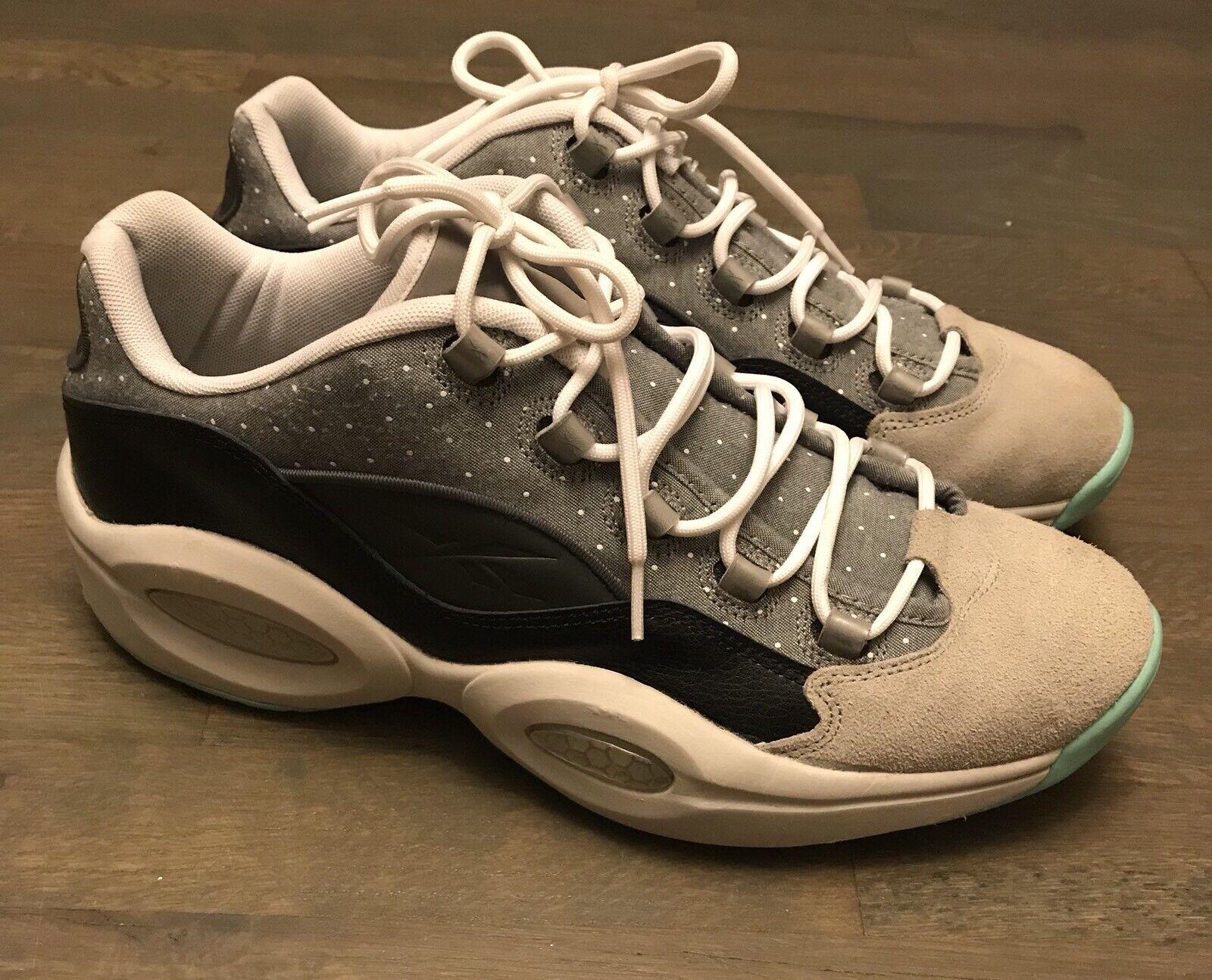 Reebok Allen Iverson Question Low Top Basketball Sneaker Men's Size 13