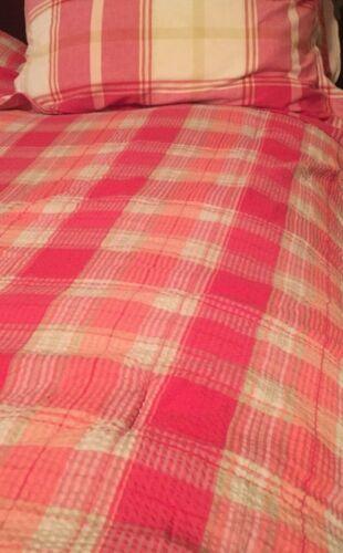 Liz Claiborne VILLAGER 2 matching TWIN Comforters W/ SHAMS GREAT COLORS,COTTAGE