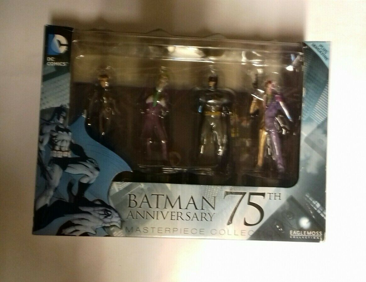 BATMAN ANNIVERSARY 75TH 75TH 75TH MASTERPIECE COLLECTION EAGLEMOSS COLLECTIONS ad79aa