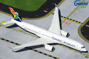 GEMINI JETS (GJSAA1920) SOUTH AFRICAN AIRWAYS A350-900 1:400 SCALE DIECAST MODEL