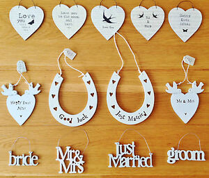 Image Is Loading East Of India Small Wooden Wedding Signs