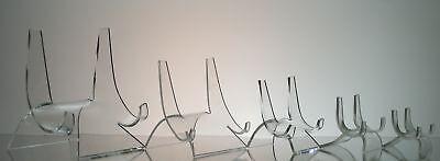Acrylic Display Easel stand wholesale plate tile