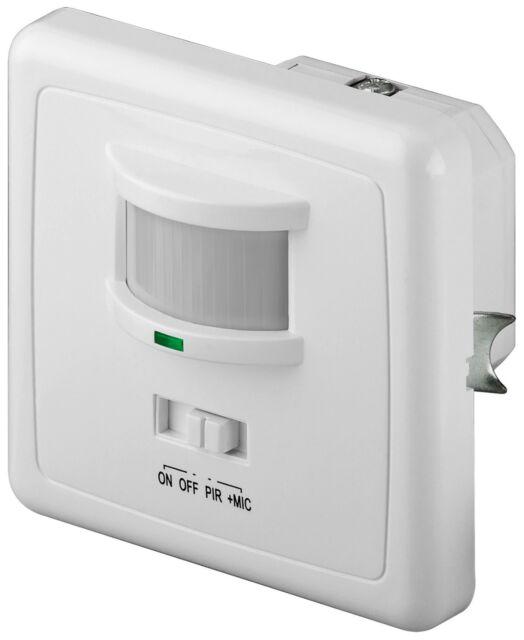 Rilevatore di movimento a infrarossi/acustica
