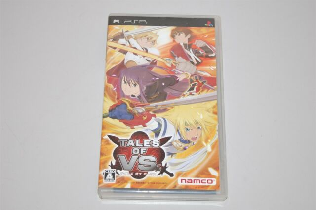 Tales of VS Japan Sony PSP game