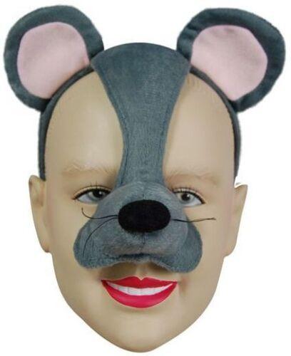 Animali Costume Maschere Maschera del Mouse su Fascia /& Suono