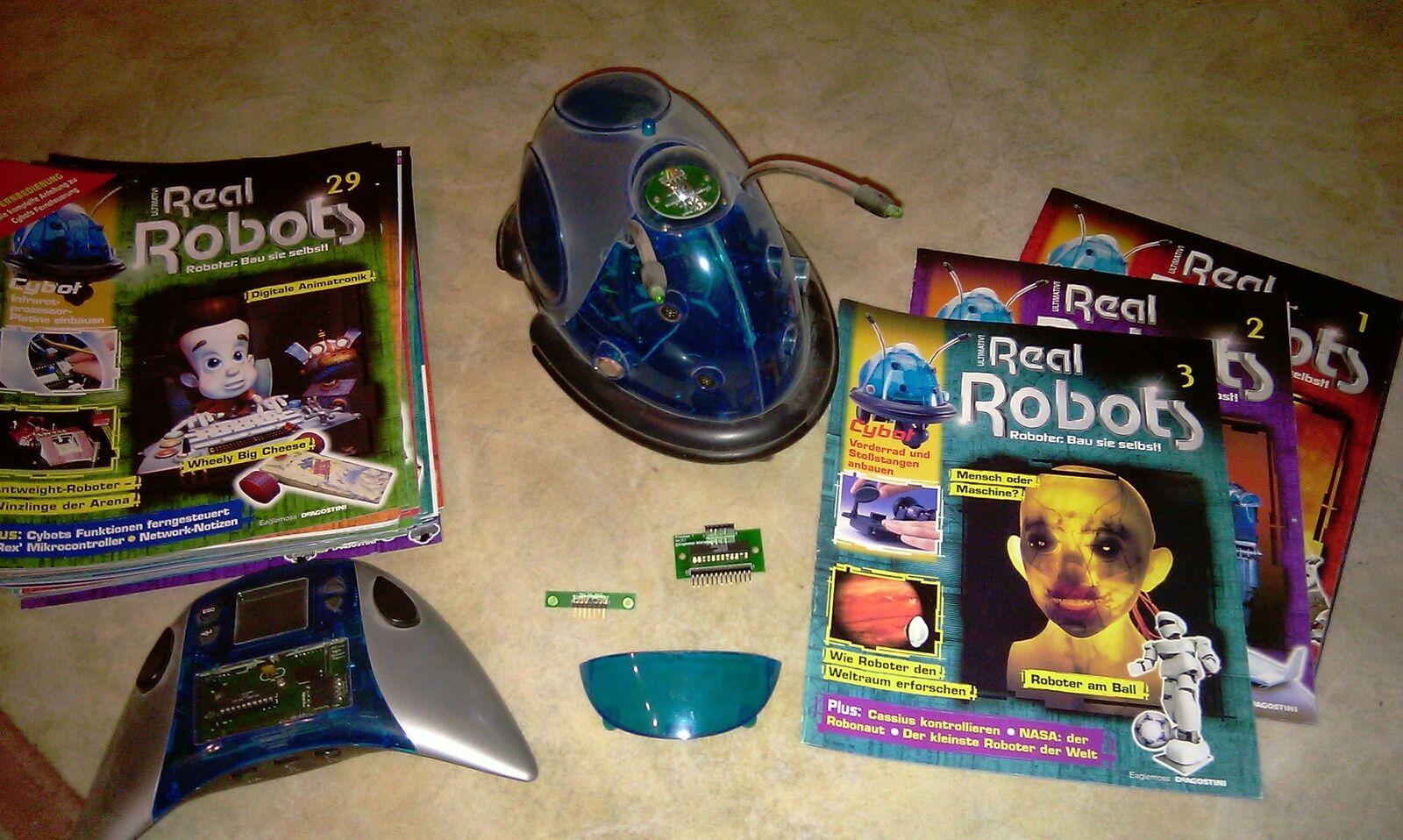Cybot Cybot Cybot Roboter Real Robots mit Fernbedienung 9b8a67