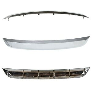 New-Grille-Trim-Grill-Lower-Chrome-For-Ford-Fusion-2010-2012