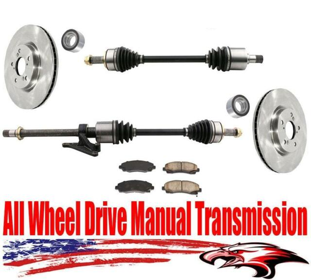 Front All Wheel Drive Manual Transmission Axles Bearings