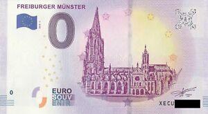 0-Euro-Schein-Freiburger-Muenster-2018-1-null-Souvenir
