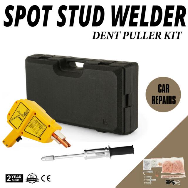 1600 A Spot Stud Welder Dent Puller Gun Welding Kit with More Accessories