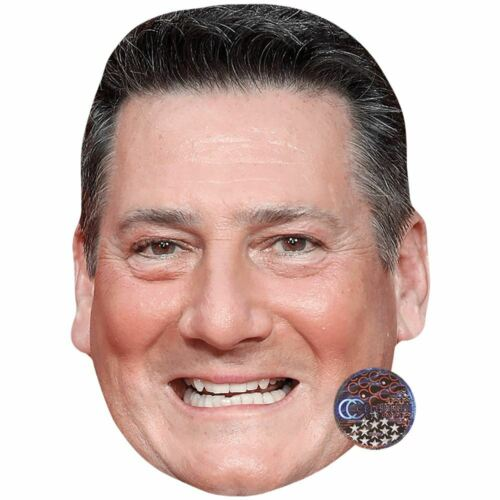 Tony Hadley Teeth Card Face and Fancy Dress Mask Celebrity Mask