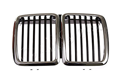NEW OEM Genuine BMW E30 Cabrio Coupe Front Radiator Kidney Grille 51131945877