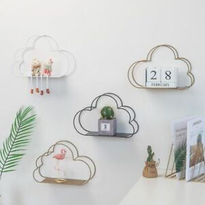 Details about Cloud Shape Wall Storage Unit Industrial Style Metal on