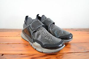 separation shoes 7f24a 43d68 Details about Nikelab X Stone Island Nike Sock Dart Mid SP Black Sz 10  Midnight Fog 910090-001