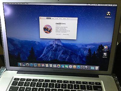 MacBook Pro 15 inch Pre-Retina *Quad Core i7 2.0Ghz* Turbo boost to 3.2 DVD/RW