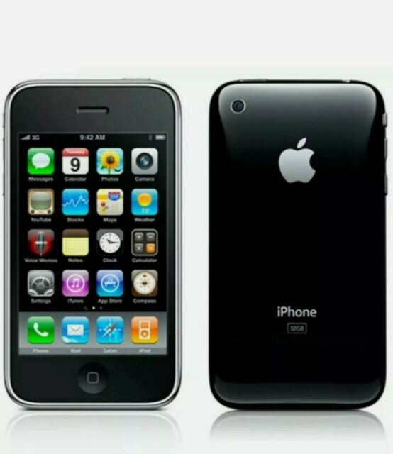 (Unlocked) Apple iPhone 3GS - 16GB - Black A1303 (GSM) *Excellent* MB715LL/A