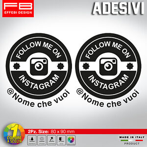 Adesivo-Stickers-INSTAGRAM-SCEGLI-IL-TUO-NOME-USER-NAME-social-MOTO-AUTO-TUNING