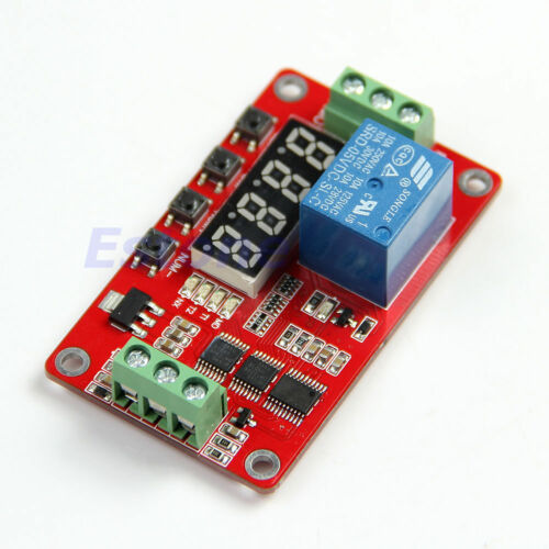 24V Relay Cycle Timer PLC Home Automation Delay Multifunction L40 12V 5V