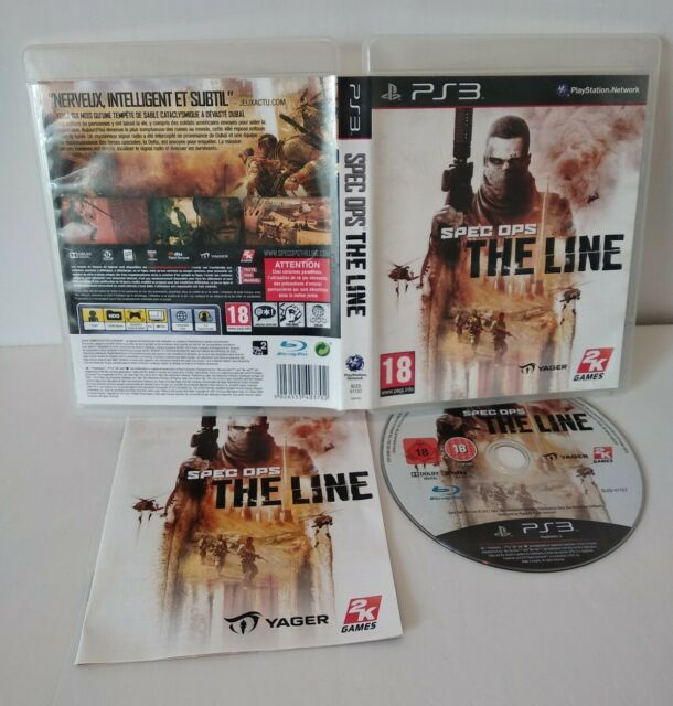 Spec Ops: The Line - PS3 - Region Free/Dezoné français  Complet Comme neuf
