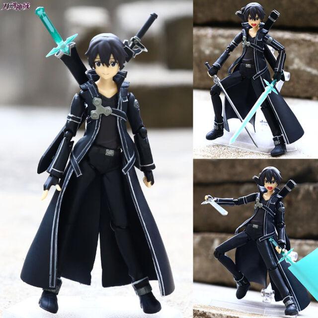 "SAO Sword Art Online Kirito 13cm / 5.2"" PVC Figure New In Box"