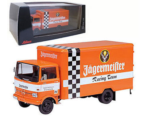 SCHUCO MERCEDES-BENZ LP 608  JAGERMEISTER  team di supporto veicolo-scala 1 43