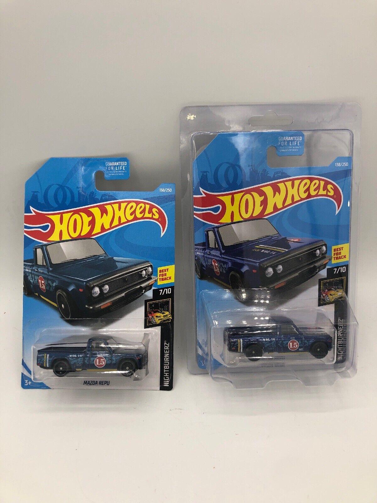 2019 Hot Wheels MAZDA Repu Super Treasure HuntIn Predector W  Basic - 2 Car Lot