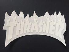 Thrasher Magazine Skateboard Sticker Flame Logo Decal Mag Skate Goat KOTR New