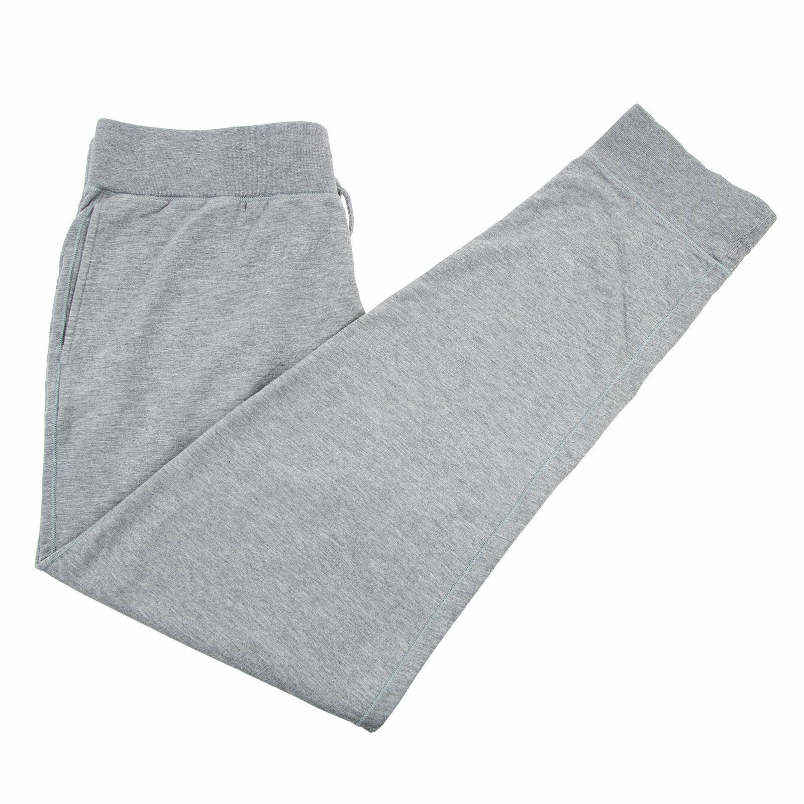 Ralph Lauren Purple Label Grey Cotton Elastic Drawstring Waist Joggers Pants XL