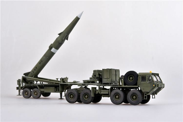 Modelcollect as72110 US Army m983 hemtt tractor & pershing ii listo modelo 1 72